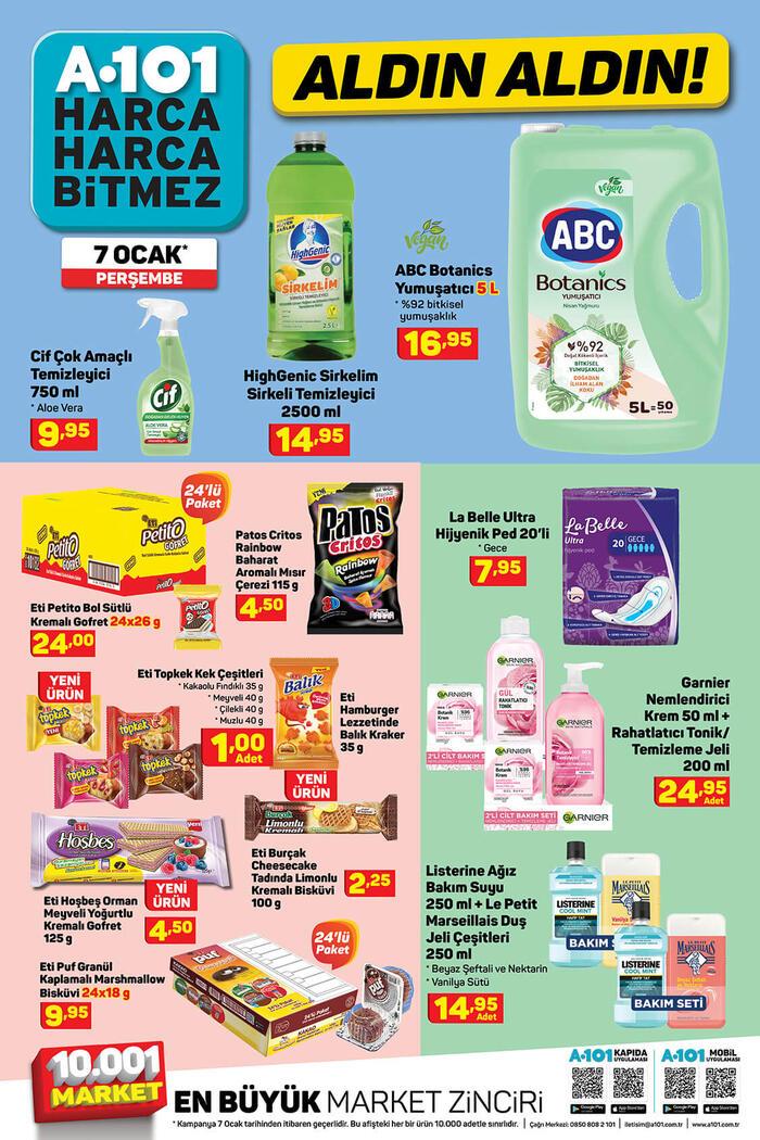A101 7 Ocak 2021 aktüel ürünler kataloğu: Bu perşembe A101'de neler indirimde? Ekonomi