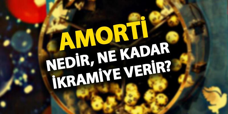 Amorti ne kadar ikramiye verir? Amorti numaraları (sayıları) kaç? Ekonomi