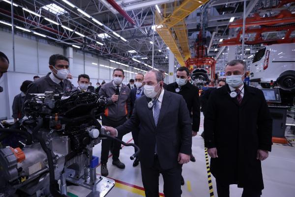 Bakan Varank elektrikli araç yatırımlarını inceledi Ekonomi