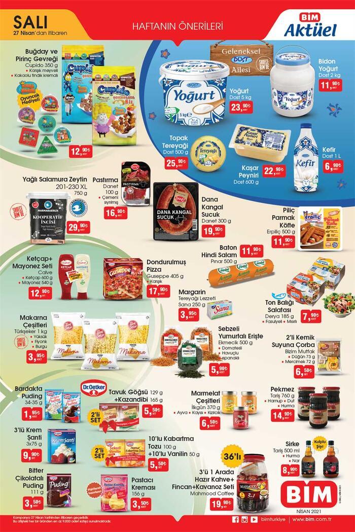 Yarın BİM aktüel 27 Nisan 2021 Salı kataloğu satışta! BİM kataloğu aktüel ürünleri bu hafta neler olacak? Ekonomi